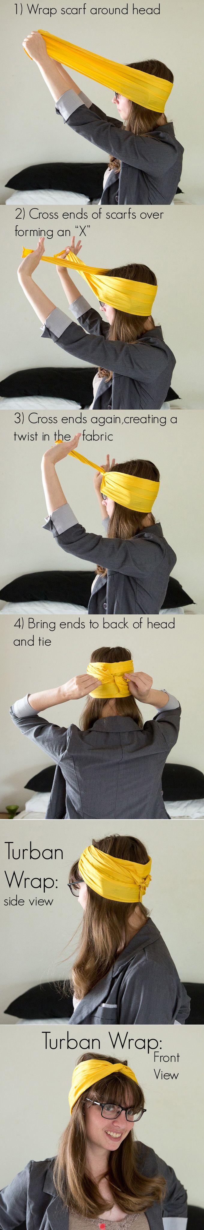 cómo lucir un turbante