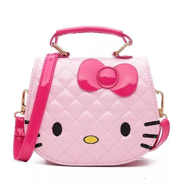 Cute Kids Children Girls Mini Bowknot Crossbody Bags Casual Handbags Bag Purse