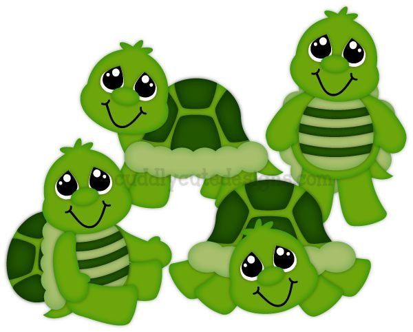 Cuddly Critter Turtles