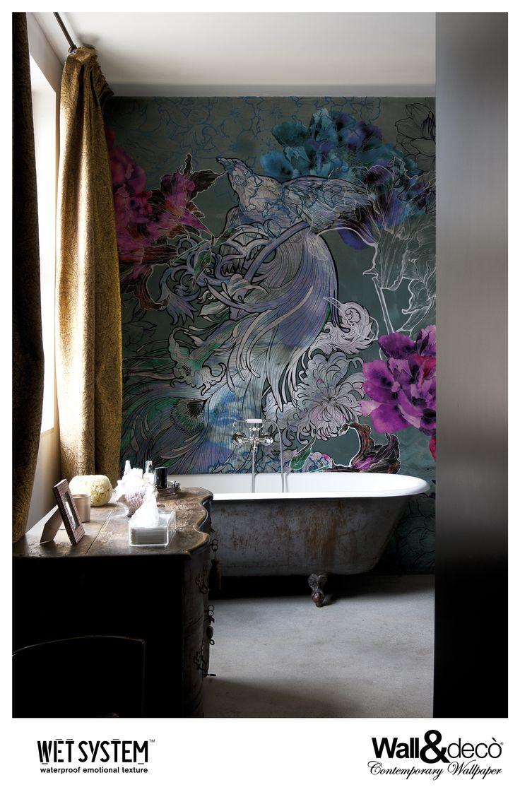 Mystical Dreams  www.wallanddeco.com  #wallpaper, #wallcovering, #wetsystem