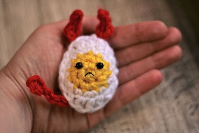 Deviled EggEggs Jennifer, Crochet Stuff, Favourite Crochethack, Eggs Crochet, Deviled Eggs, Crochet Knits
