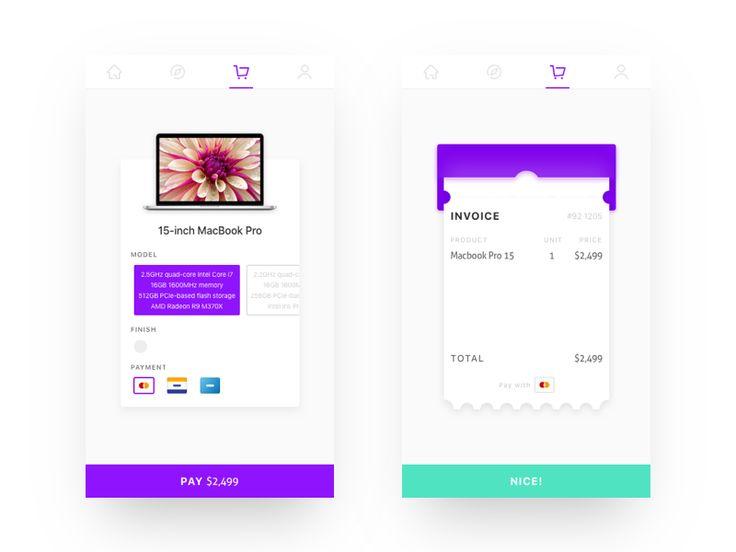 Invoice by Jony #Design Popular #Dribbble #shots