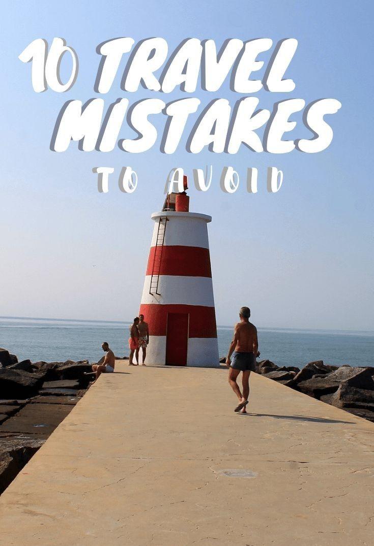 10 zu vermeidende Reisefehler ✔