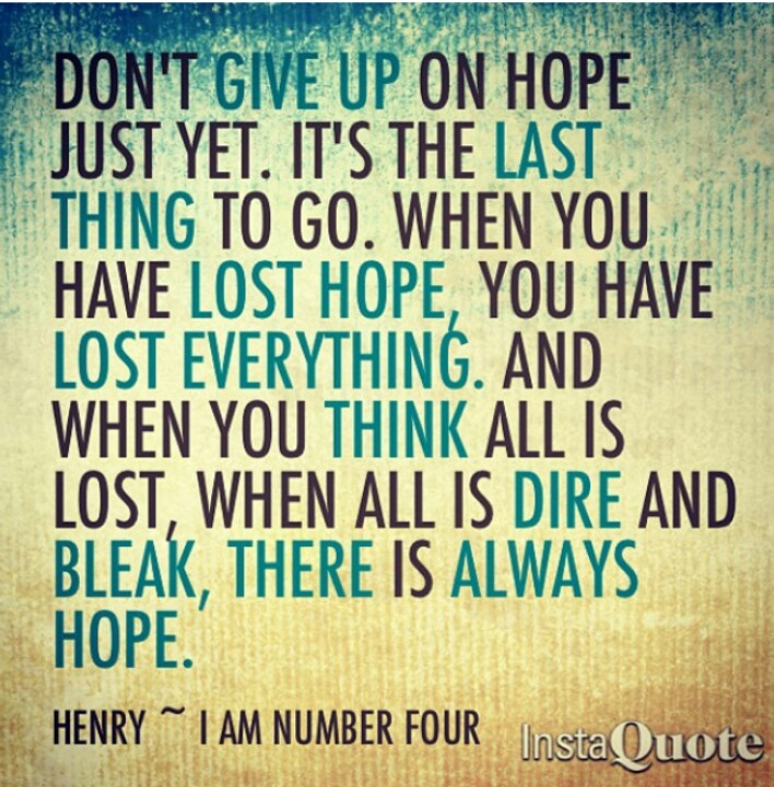 Sad Quotes About Depression: I Am Number Four Quote. Henry.