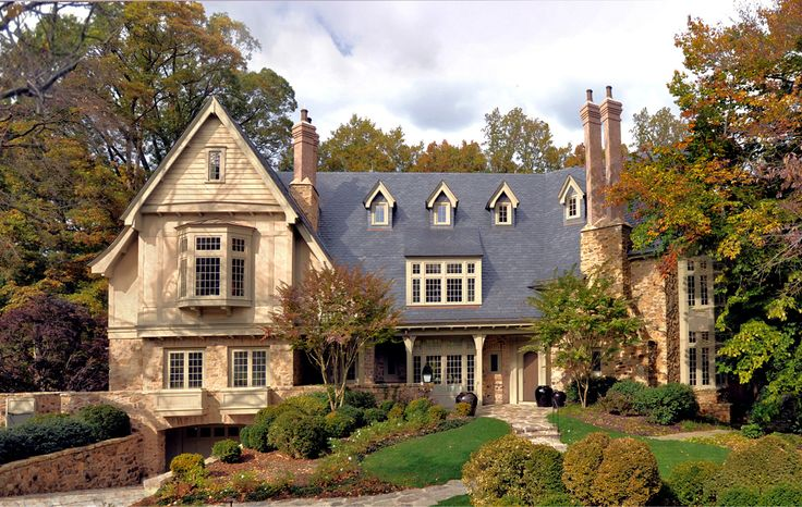 Tudor Revival in Washington, D.C. by Darryl Carter Interiors and Donald Lococo Architects | featured in a September issue of Architectural Digest