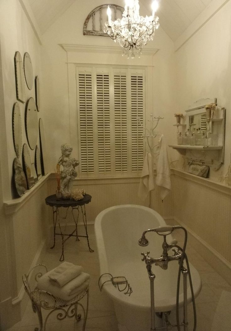Love This Old Bathroom Shabby Chic Pinterest In The Corner