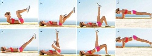abs / core / butt workout for summer