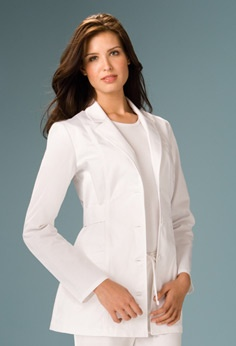 "Cherokee Women's Princess Seam 30"" Lab Coat"