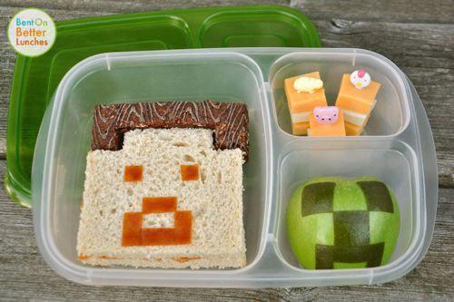 minecraft lunchbox - Google Search