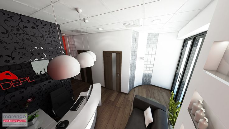 Więcej na: http://marengo-architektura.pl/portfolio/salon-kosmetyczny-krakow/