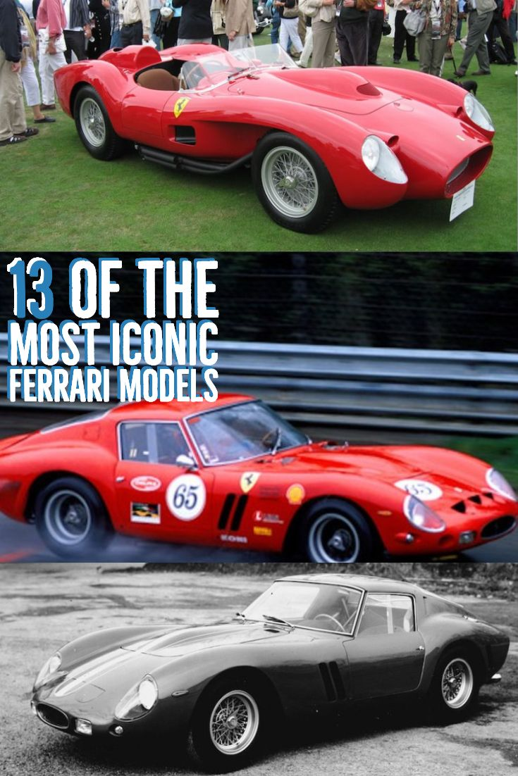 13 Of The Most Iconic Ferrari Models In History Ferrari Ferrari Car Ferrari F430