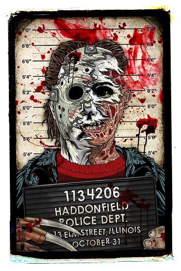 Michael/Jason/Freddy Mugshot