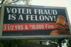 """Florida's Fraudulent Voting Witch Hunt Produces a """"Shocking"""" Number of Cases -- All Republican"""