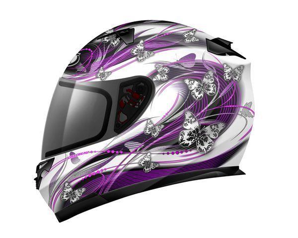 Capacete MT Helmets Blade Butterfly - Rosa - MotoMobile