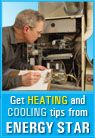 As nights start getting colder, more and more people will be switching on their heating systems. ENERGY STAR has a number of tips on getting the most out of your heating and cooling for lower energy bills year-round.