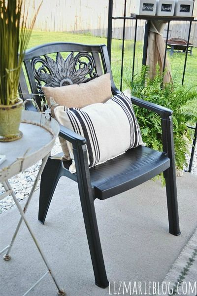 best spray painting chairs  on Pinterest