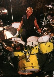 Jimmy Chamberlin- Drummer, The Smashing Pumpkins