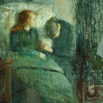 The Sick Girl - Edvard Munch