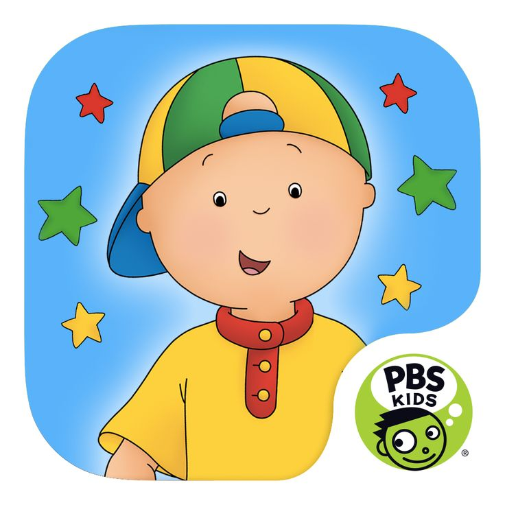 Caillou Let's Pretend Mobile Downloads | PBS KIDS Many interesting apps with a language feature to change to French.