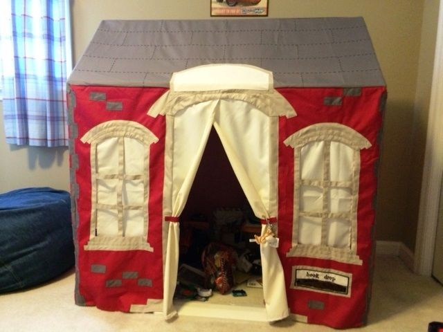 Pottery barn kids playhouse the school house back to for School playhouse