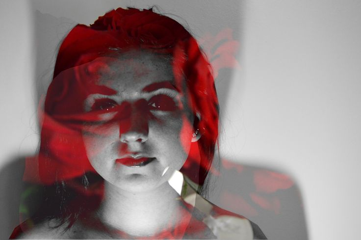 Double Exposure. The pressure for women to be beautiful. Is Natural not beautiful?