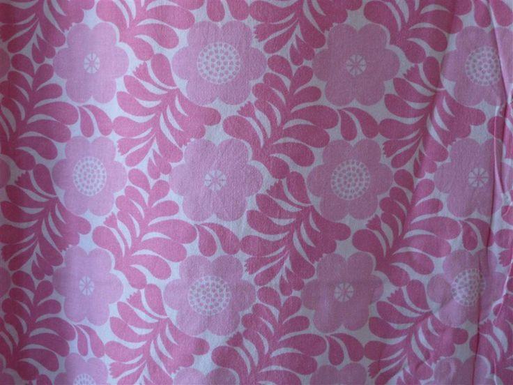 2 retro påslakan bomull 70-tal 201 x 150 cm på Tradera.com - Sängkläder