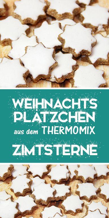 Zimtsterne – Klassische Weihnachtsplätzchen mit dem Thermomix.
