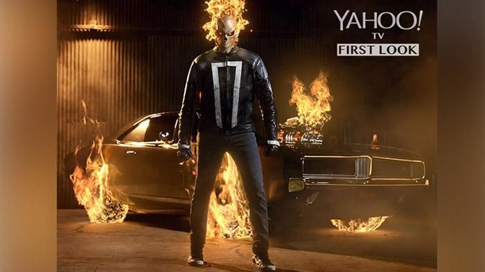 Serial Marvel Agent of SHIELD - Begini Tampilan Baru Ghost Rider Di Televisi…