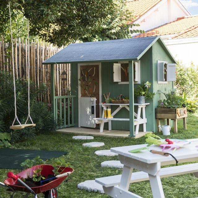 48 les meilleures images concernant jardin am nagement ext rieur sur pi - Castorama cabane enfant ...