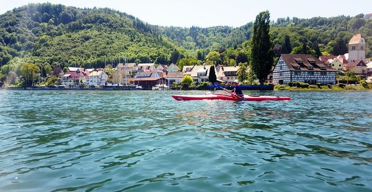 Traumhafte Kajaktour am Bodensee...