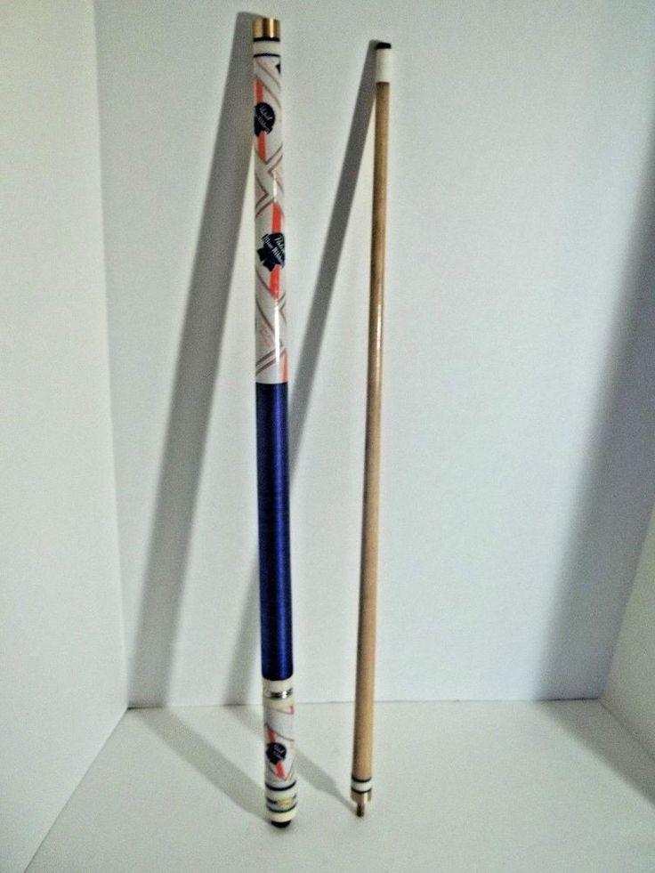 Vintage 1980 S Pabst Blue Ribbon Beer Pool Stick Cue