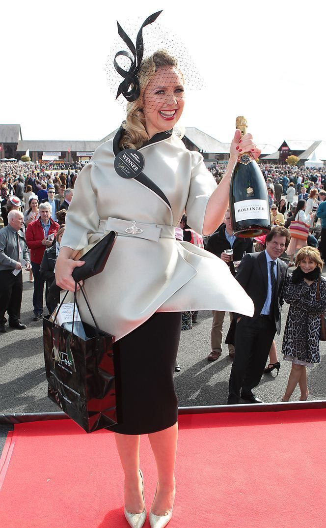 Ladies Day At The Punchestown Festival 2015