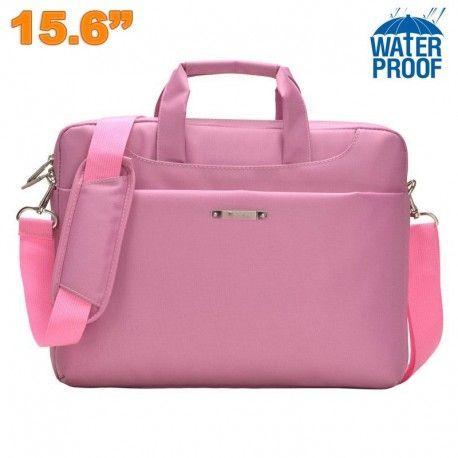 Commandez votre Sacoche ordinateur portable 15 - 15.6 pouces étui PC waterproof Rose, la livraison express est gratuite et vos achats Garantie de 2 ans