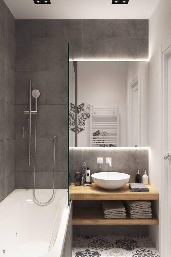 25+ Kleine Badezimmerideen Optimieren Sie den Raum…