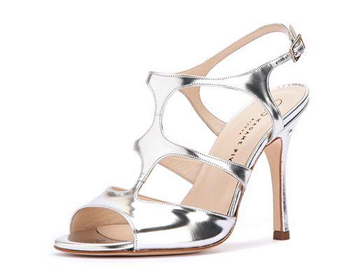 Sandalo RAMONA Specchio argento. Tango shoes Bijoux collection