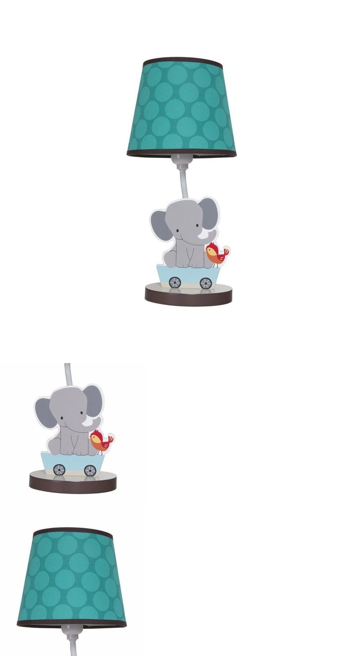 Lamps And Shades 20428: Nursery Lamp Choo Choo Train Light Shade Baby  Infant Kids Animals