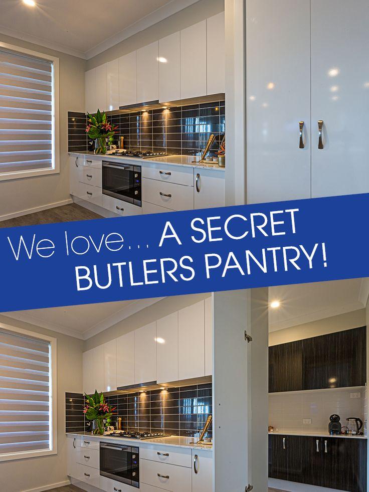 We love... a secret butler's pantry!