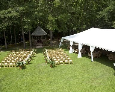 tent... outdoor wedding