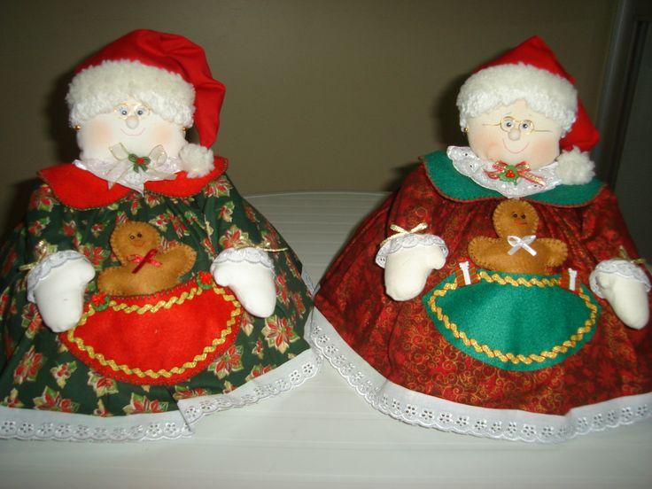 cobre bolo Mamãe Noel
