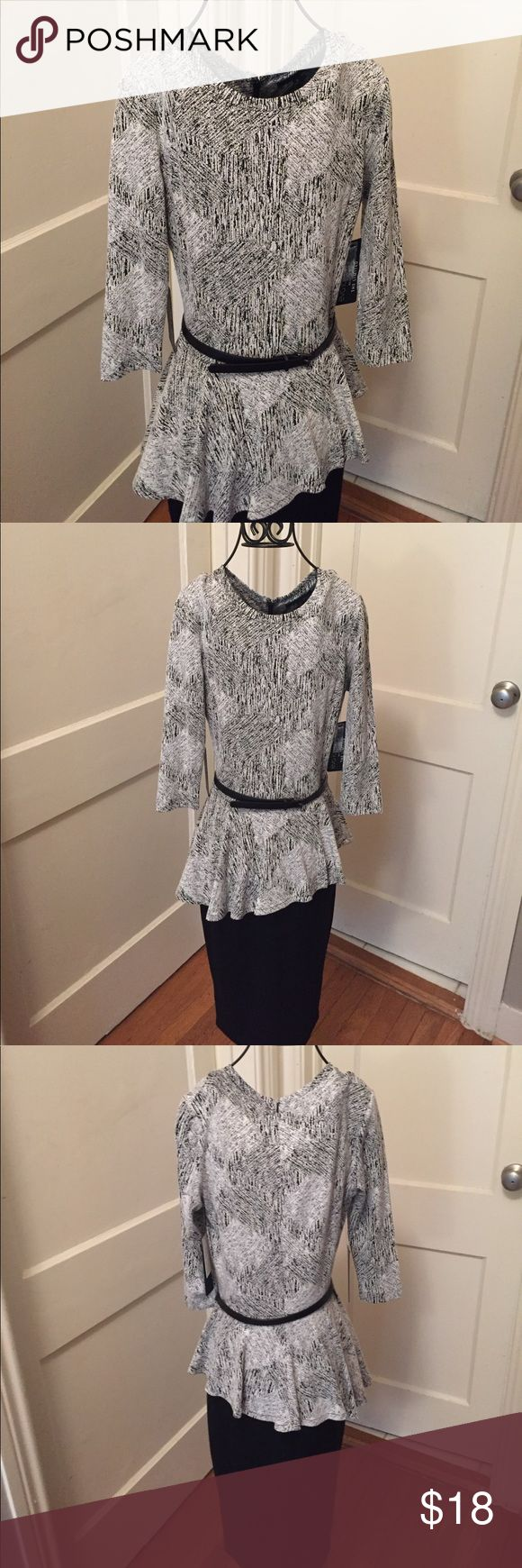 Eva Longoria peplum work dress. Size S. New Eva Longoria peplum work dress. Size S. Fits a size 4. New and never worn. Hits below the knee. Purchased from The Limited. Reg. $139 Dresses Midi