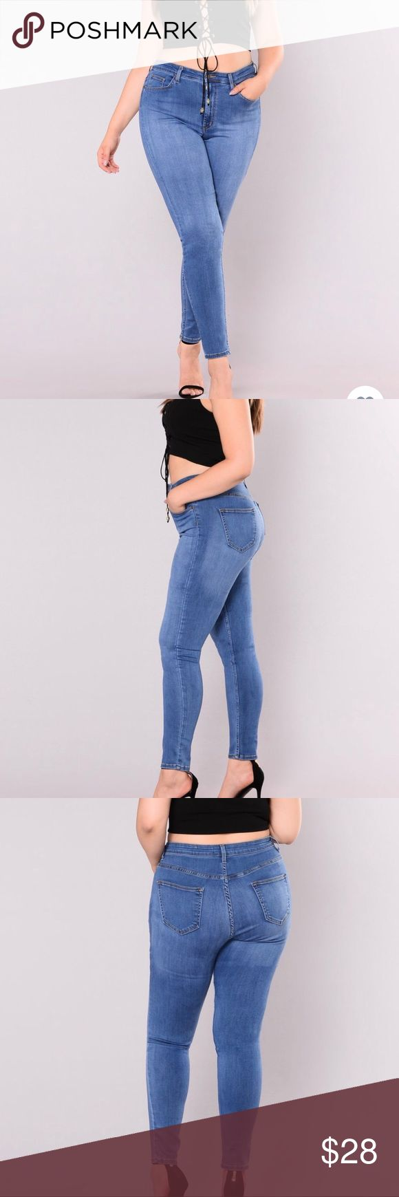 Fashion Nova Precious Fit High Waisted Jean- 1X A fit so rare, you'll want f…