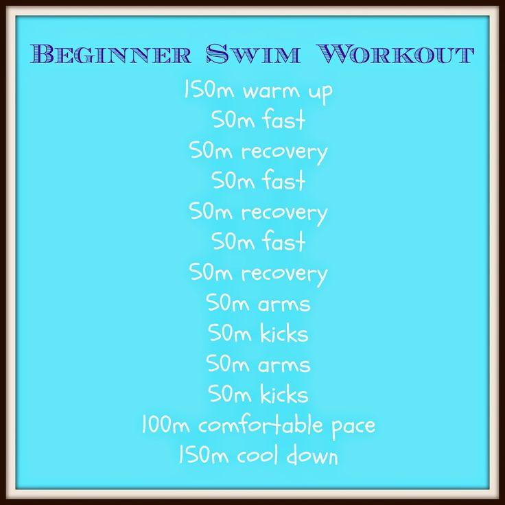 Beginners Triathlon Swimming Workout