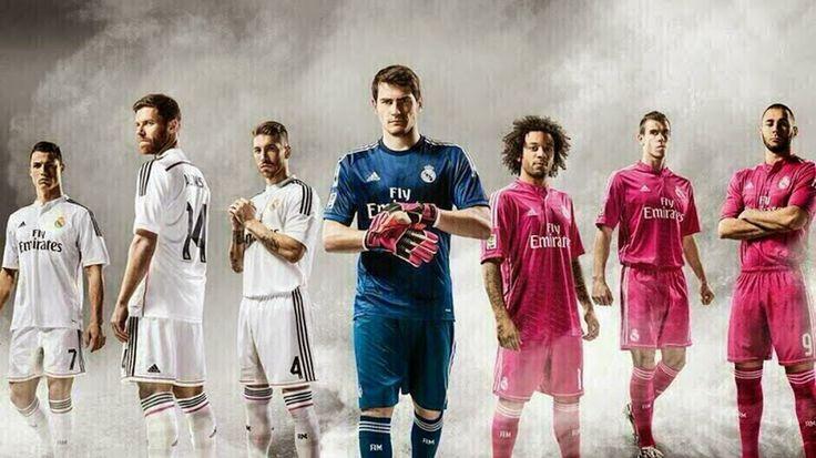 Camisetas de UEFA Champions League 2014 2015:camiseta Real Madrid 2014 2015