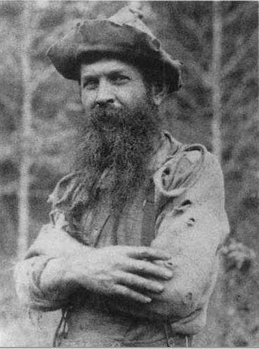 Benjamin Vernon Lilly, mountain man!