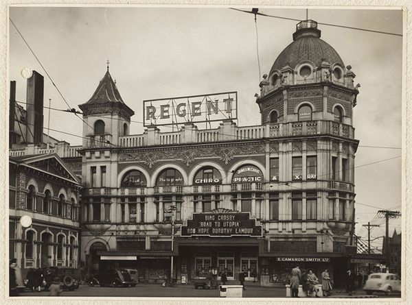Regent Theatre, Cathedral Square, Christchurch, New Zealand