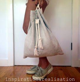 ispirazione e realizzazione: blog di moda fai da te: fai da te: zaino slouchy