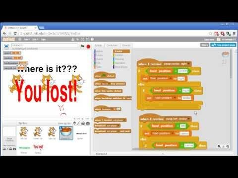 Shell Game - Invent with Scratch 2.0 Screencast - YouTube