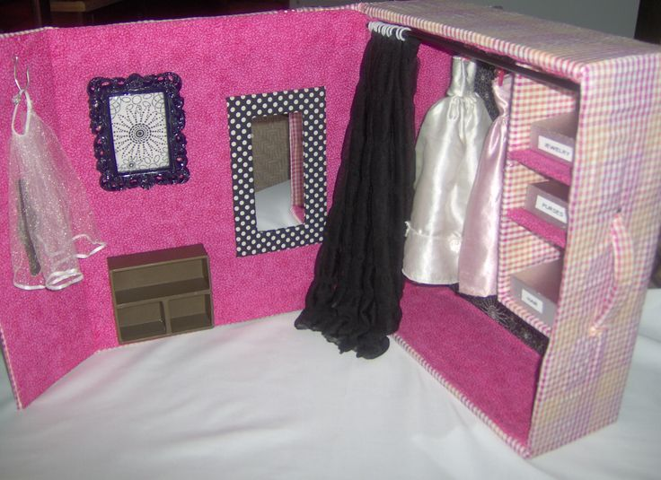 Make Your Own Barbie Furniture Property Impressive Best 25 Homemade Barbie House Ideas On Pinterest  Barbie House . Inspiration