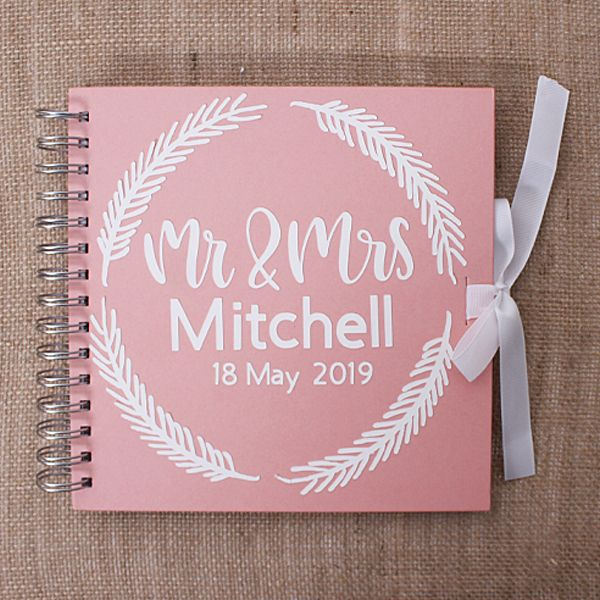 Cricut How To Make A Personalised Wedding Guest Book