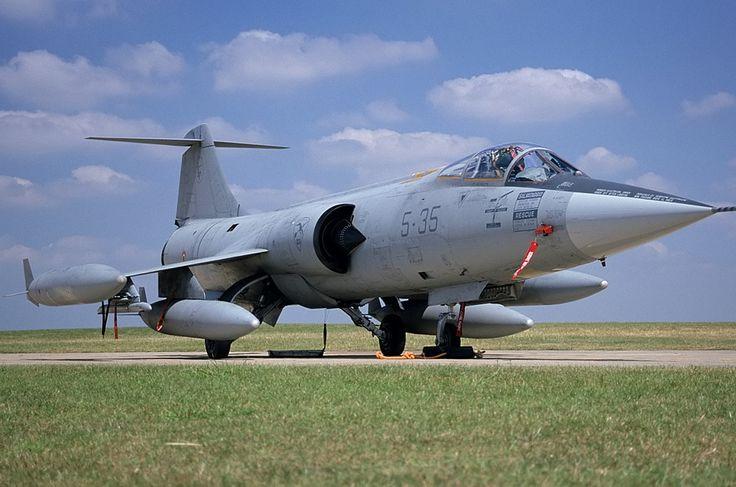 Italian Air Force Lockheed (Aeritalia) F-104S Starfighter